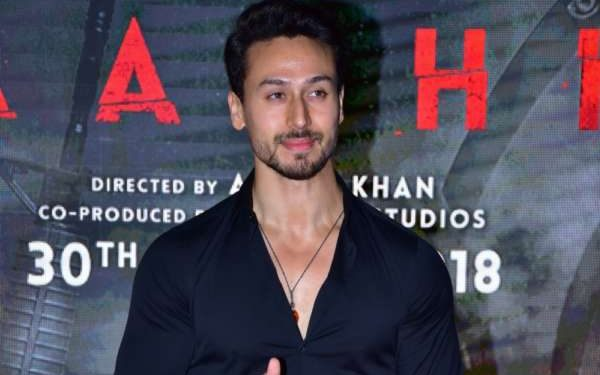 "Mumbai: Actor Tiger Shroff during the special screening of film ""Baaghi 2"" on March 29, 2018. (Photo: IANS) by ."