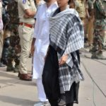 Jodhpur: Actress Tabu arrives to appear before a Jodhpur rural court in connection with the hearing in black buck poaching case, on April 5, 2018. While Actor Salman Khan was found guilty on Thursday in the 1998 black buck poaching case while the other four accused actors -- Sonali Bendre, Saif Ali Khan, Tabu and Neelam -- were acquitted of all charges. (Photo: IANS) by .