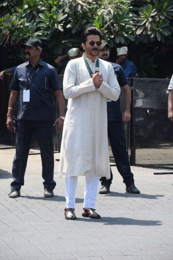 Mumbai: Actor Anil Kapoor during wedding ceremony of her daughter Sonam Kapoor with Anand Ahuja in Mumbai on May 8, 2018. (Photo: IANS) by .