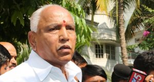Bengaluru: BJP's Chief Ministerial candidate B.S. Yeddyurappa talks to the press after he was elected to the Karnataka Assembly from Shikaripura by 35,397 votes; in Bengaluru on May 15, 2018. Yeddyurappa, 75, defeated Congress nominee Goni Malatesha and seven others in his home constituency. (Photo: IANS) by .