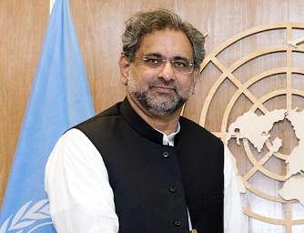 Shahid Khaqan Abbasi. (File Photo: IANS) by IANS_ARCH.