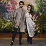 Mumbai: Actor Shahid Kapoor and his wife Mira Rajput at the wedding reception of actress Sonam Kapoor and businessman Anand Ahuja in Mumbai, on May 8, 2018. (Photo: IANS) by .