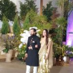 Mumbai: Actors Saif Ali Khan and Kareena Kapoor at the wedding reception of actress Sonam Kapoor and businessman Anand Ahuja in Mumbai, on May 8, 2018. (Photo: IANS) by .