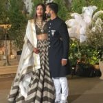 Mumbai: Actress Sonam Kapoor and Anand Ahuja at their wedding reception in Mumbai, on May 8, 2018. (Photo: IANS) by .