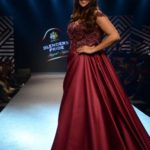 Mumbai: Actress Neha Dhupia showcases creations of fashion designer Sonaakshi Raaj at Blenders Pride Magical Nights in Mumbai on April 13, 2018. (Photo: IANS) by .