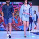 Mumbai: Models walk the ramp for FBB Fashion Hub, in Mumbai on April 28, 2018. (Photo: IANS) by .