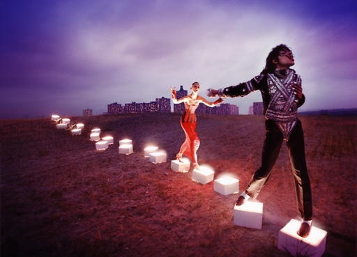 Michael Jackson by David Lachapelle. by .