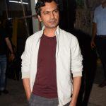 "Mumbai: Actor Nawazuddin Siddiqui arrives at the screening of the film ""Bhavesh Joshi Superhero"" in Mumbai on May 31, 2018. (Photo: IANS) by ."