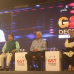 New Delhi: Cabinet Ministers from Kerala and Goa - Thomas Isaac and Mauvin Godinho respectively, during a panel discussion on 'GST Decoded – 1 Year On', in New Delhi on June 28, 2018. (Photo: IANS) by .