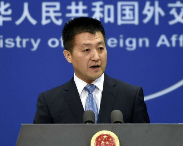 Lu Kang, a spokesperson for Chinese Foreign Ministry. (File Photo: IANS) by .
