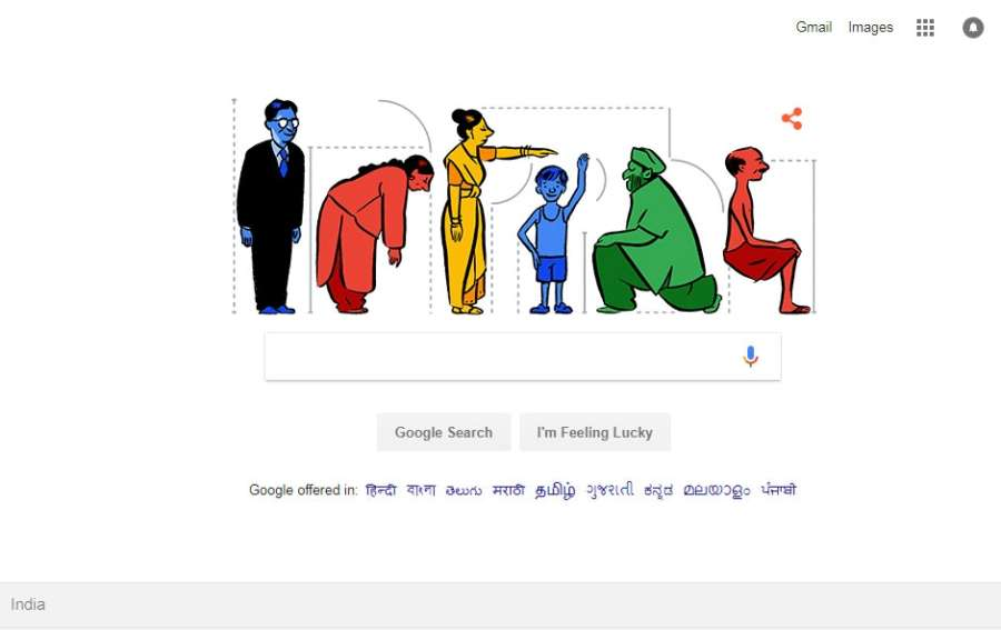 Google dedicated a Doodle in honour of Prasanta Chandra Mahalanobis, regarded as the chief architect of Indian statistical system as well as father of statistical science in India. by .