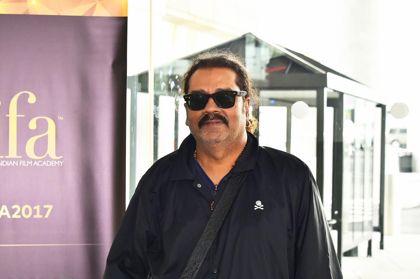"""New York: Singer Hariharan at the """"green carpet"""" of three-day IIFA Weekend and Awards in New York on July 12, 2017. (Photo: IANS) by ."""