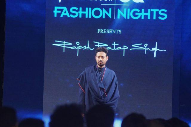 Mumbai: Actor Irrfan Khan at the GQ Fashion Nights 2017 in Mumbai on Nov 12, 2017.(Photo: IANS) by .