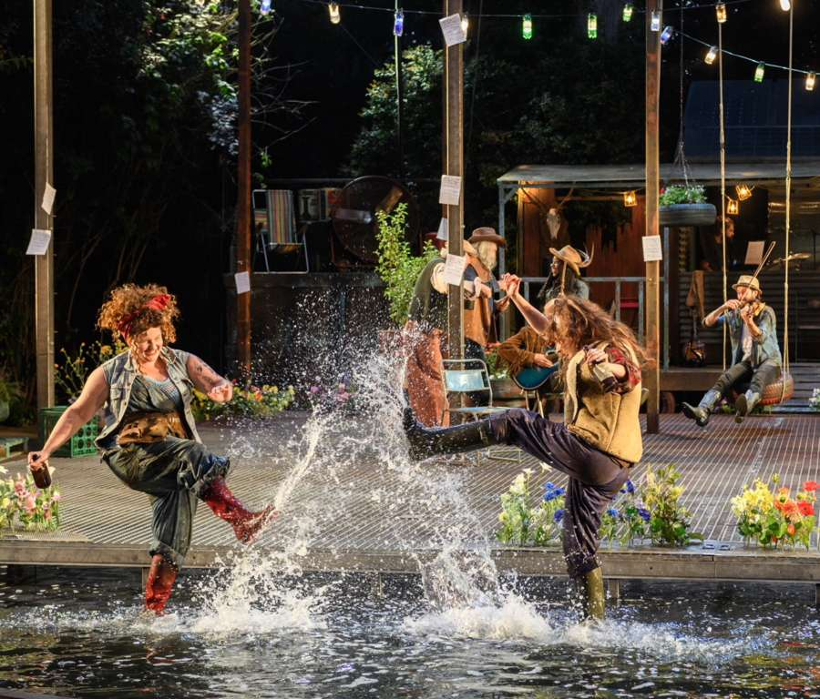 AS YOU LIKE IT, Regent's Park Open Air Theatre London, Britain - 05 July 2018 by © Jane Hobson 07798 794205 www.janehobson.com.