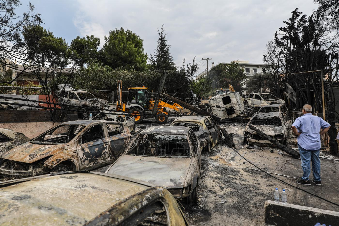 GREECE-MATI-WILDFIRES by .