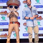 """Mumbai: Filmmaker Rohit Shetty at the launch of animation series """"Little Singham"""" in collaboration with Discovery Kids in Mumbai on April 10, 2018. (Photo: IANS) by ."""