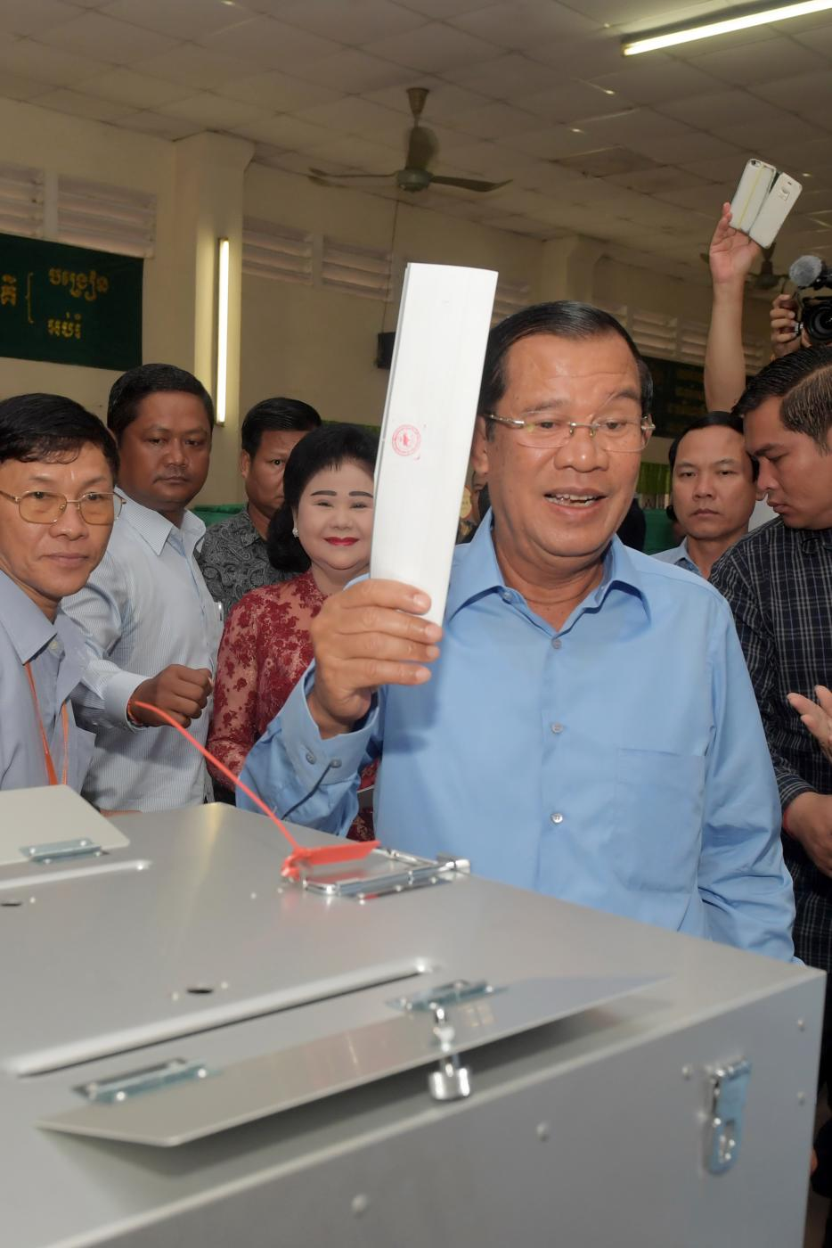 CAMBODIA-KANDAL-GENERAL ELECTION by .