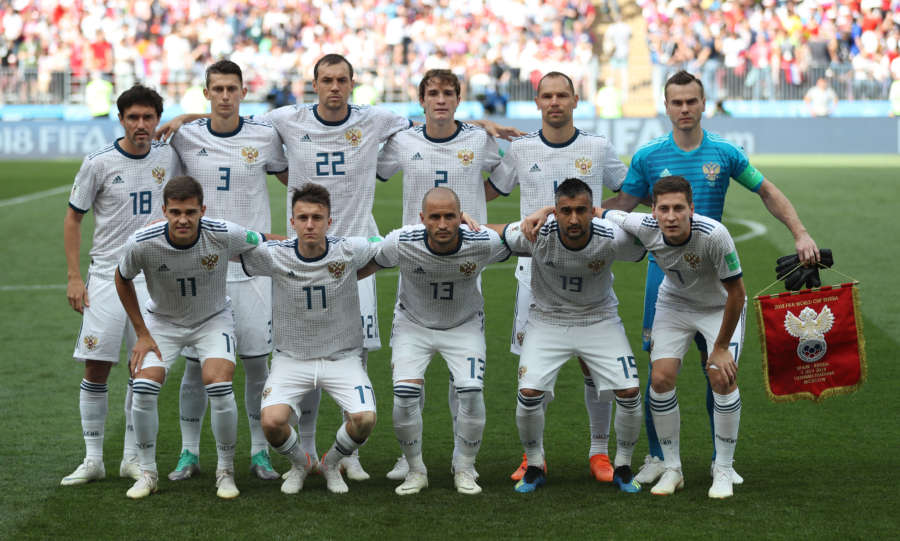 (SP)RUSSIA-MOSCOW-2018 WORLD CUP-ROUND OF 16-SPAIN VS RUSSIA by .