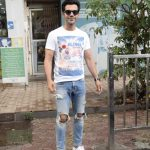 Mumbai: Actor Rajkummar Rao seen at Mumbai's Juhu on June 18, 2018. (Photo: IANS) by .