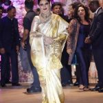 Mumbai: Actress Rekha at the engagement party of Reliance Industries Chairman Mukesh Ambani's son Akash Ambani and diamantaire Russell Mehta's daughter Shloka Mehta, at Antilia in Mumbai on June 30, 2018. (Photo: IANS) by .