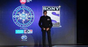 "Mumbai: Actor Amitabh Bachchan during a press conference over anchoring the upcoming season of ""Kaun Banega Crorepati"" in Mumbai on Aug 23, 2017. (Photo: IANS) by ."