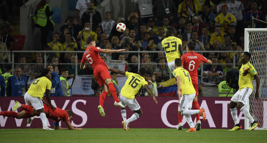 (SP)RUSSIA-MOSCOW-2018 WORLD CUP-ROUND OF 16-ENGLAND VS COLOMBIA by .