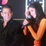Mumbai: Bollywood star Salman Khan and Katrina Kaif during the press conference to reveal details about 18th edition of the International Indian Film Academy (IIFA) Awards in Mumbai on June 1, 2017. (Photo: Sandeep Mahankal/IANS) by .