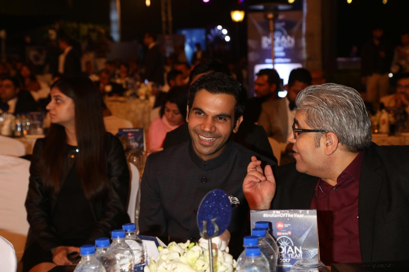 New Delhi: Actor Rajkummar Rao during Indian of the Year 2017 award ceremony hosted by CNN News 18 in New Delhi, on Nov 30, 2017. Best actor award goes to Rajkumar Rao. (Photo: Amlan Paliwal/IANS) by .