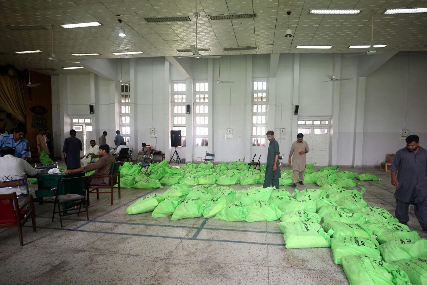 PAKISTAN-ISLAMABAD-GENERAL ELECTIONS-PREPARATIONS by .