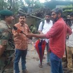 Kozhikode: An Army officer talks to press regarding their rescue operation at Thamarassery Churam in Kozhikode, Kerala on Aug 10, 2018. (Photo: IANS/DPRO) by .
