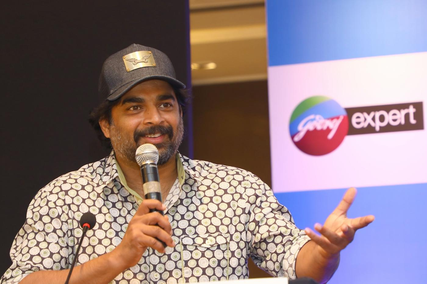 Bengaluru: Actor R Madhavan during a promotional programme in Bengaluru, on June 22, 2018 (Photo: IANS) by .