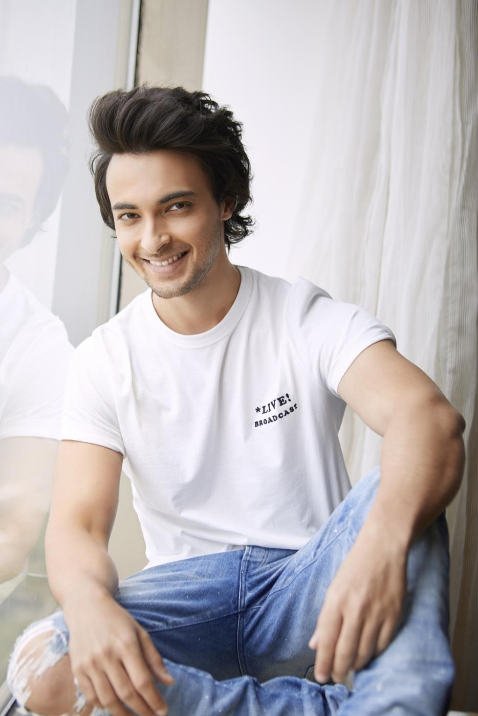Actor Aayush Sharma by .
