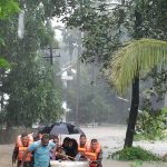 Kerala: Rescue operations underway in various flood-affected areas of Kerala, on Aug 16, 2018. (Photo: IANS/DPRO) by .