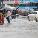 Kozhikode: A view of flooded streets of Kozhikode of Kerala after heavy rains lashed the city on Aug 14, 2018. For a second successive day, heavy rains lashed Kerala's Kozhikode, Malappuram and Wayanad districts on Tuesday, triggering fresh landslides and adding to the woes of a state battling the worst flooding in 94 years. (Photo: IANS) by .