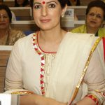 New Delhi: Entrepreneur, Author and producer Twinkle Khanna during the 34th Annual Session of FICCI Ladies Organisation (FLO) at Vigyan Bhavan in New Delhi on April 5, 2018. (Photo: Amlan Paliwal/IANS) by .
