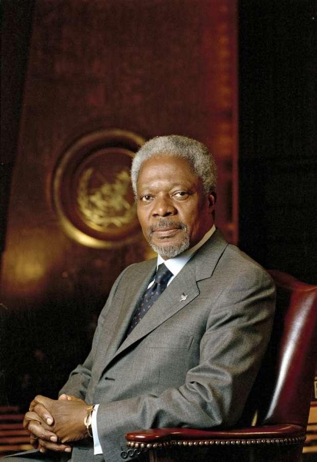 Former UN Secretary-General and Nobel Peace Prize winner Kofi Annan. (File Photo: IANS) by .