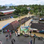 Palakkad: A view of the flood hit Palakkad, Kerala on Aug 9, 2018. (Photo: IANS) by .
