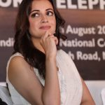 New Delhi: Actress and Wildlife Trust of India (WTI) Brand Ambassador Dia Mirza at the inaugural programme of 'Gaj Mahotasav' organised on the occasion of World Elephant Day', in New Delhi on Aug 12, 2018. (Photo: Amlan Paliwal/IANS) by .