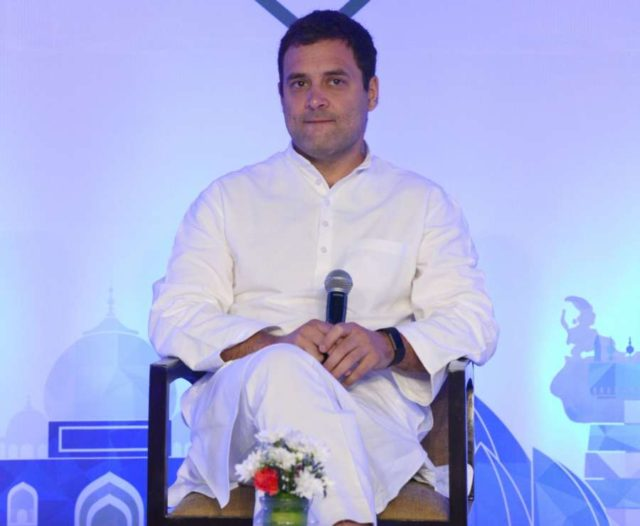 Congress President Rahul Gandhi.(Photo: IANS) by .