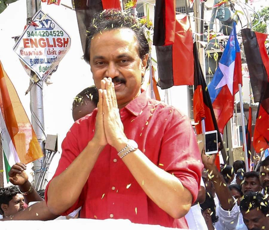 DMK leader M.K. Stalin. (File Photo: IANS) by .
