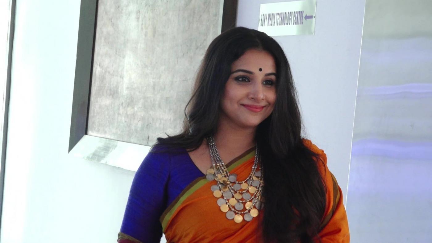 Mumbai: Actress Vidya Balan during a programme in Mumbai on Feb 2, 2018. (Photo: IANS) by .
