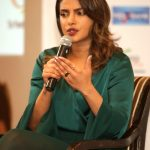 New Delhi: Actress Priyanka Chopra addresses during a FICCI FLO programme in New Delhi on Aug 6, 2018. (Photo: Amlan Paliwal/IANS) by .