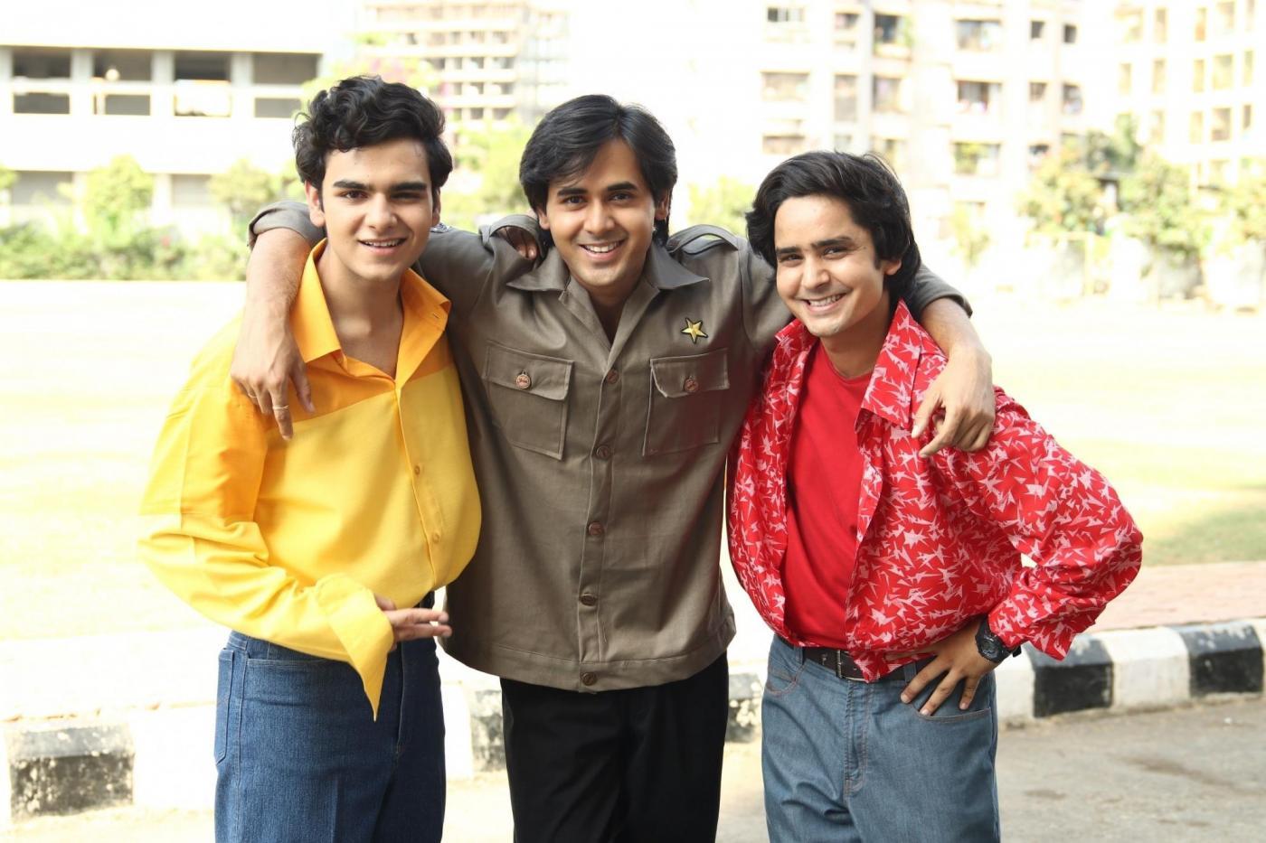 """""""Yeh Un Dinon Ki Baat Hai"""" actors Raghav Dhir, Randeep Rai and Sanjay Choudhary by ."""