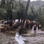 Idukki: Security personnel carry out rescue operation in flood affected areas in Idukki, Kerala, on Aug 10, 2018.(Photo: IANS/DPRO) by .