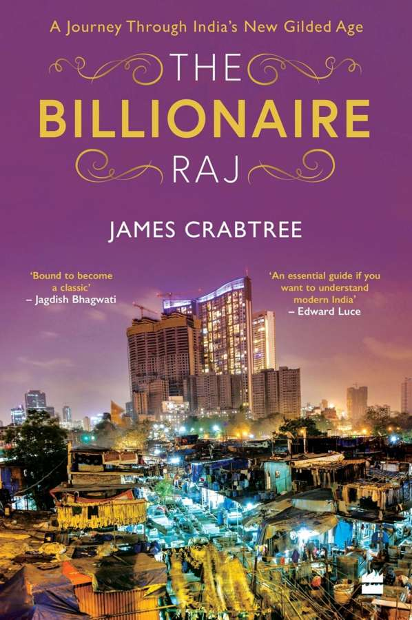 """Book cover of """"The Billionaire Raj"""" by ."""