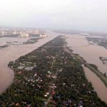 Aluva: Aerial view of the flooded Aluva, Kerala, on Aug 10, 2018.(Photo: IANS) by .