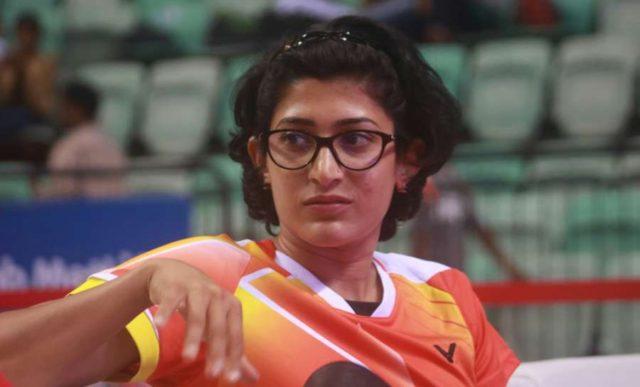 India's badminton player Ashwini Ponnappa. (File Photo: IANS) by .