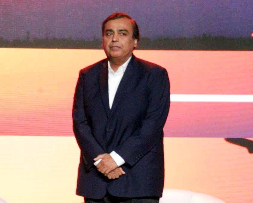Reliance Industries Ltd (RIL) Chairman Mukesh Ambani. (File Photo: IANS) by .