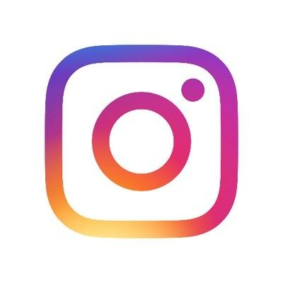 Instagram logo. by .