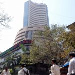 Bombay Stock Exchange. (File Photo: IANS) by .